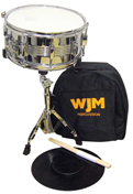 WJM Percussion Snare Drum Kit w/ Dlx Carry Bag