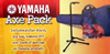 Yamaha Axe Pack CG Guitar Accessory Package