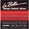 LaBella 760FHB2 Flatwound Bass 4-String Pack (.039-.096)