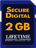 Lifetime Memory 2 GB SD Media