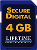 Lifetime Memory4 GB SDHC Class 6 Media