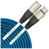 Blue Dual Microphone Cable