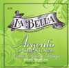 LaBella Argento Nylon Trebles/Pure Silver Wound Basses Hard Tension