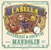 LaBella 770M Mandolin Silver Planted Loop End Wound Medium
