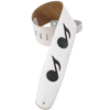 Levys M4N  Music Notes - White