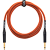 Orange 10 ft Woven Instrument Cable