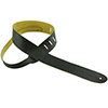 Henry Heller Capri Garment Leather Guitar Strap Black