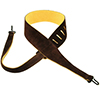 Henry Heller Capri Leather Banjo Strap Chocolate