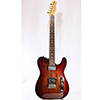 Fender Select Carved Blackwood Top Telecaster SH Black Cherry Burst