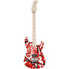 EVH Striped Red with Black Stripes