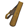 Martin Premium Rolled Leather guitar strap - Distressed