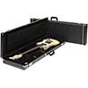 FenderStrat / Tele Multi-Fit Hardshell Case - Standard Black w/ Black Interior