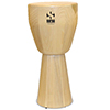 Sarga Percussion Cajon Djembe - Medium Natural