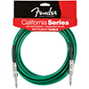 Fender California Cables 20 Ft Surf Green