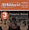 DaddarioEJ15 - (3 Sets)