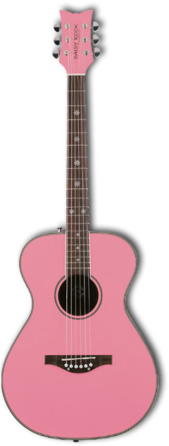 Pixie Acoustic Left Handed - Powder Pink
