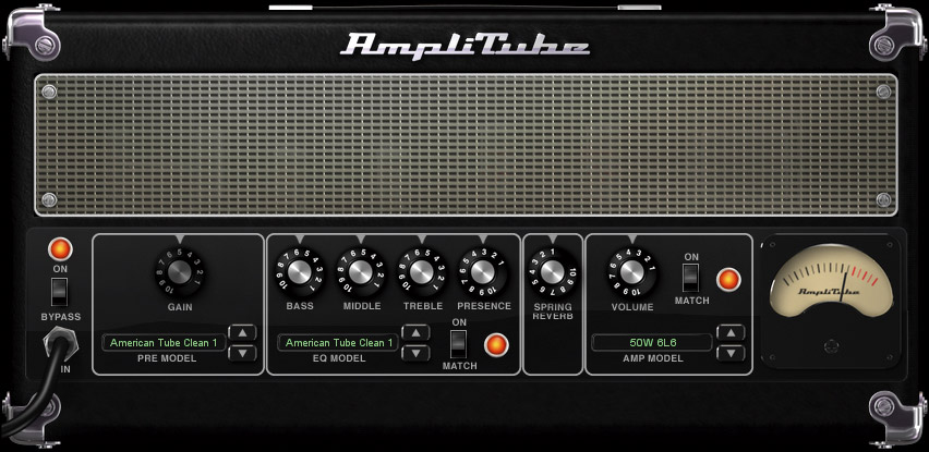 Ik Multimedia AmpliTube 2 Upgrade for LE (Mac & Windows) Interface View 2