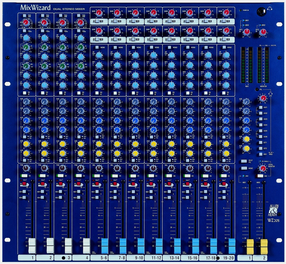 Allen Heath Mix Wizard WZ20S View 2