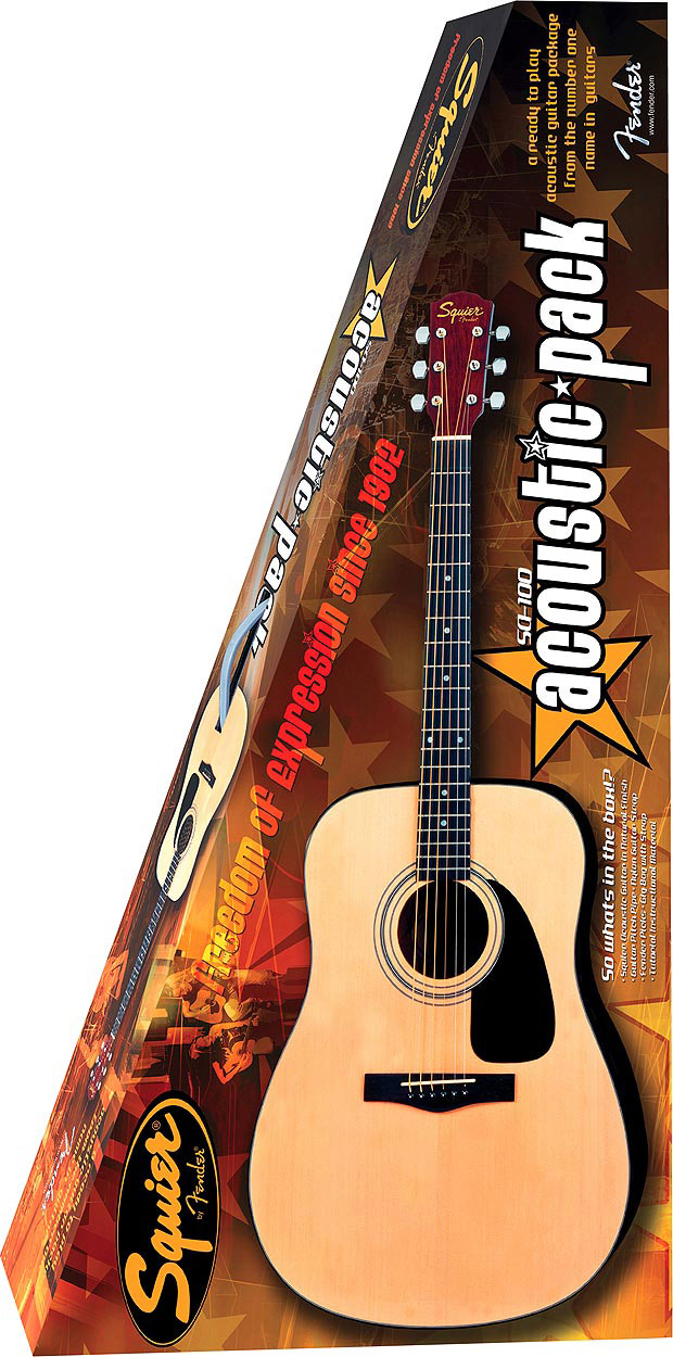 Squier SA100 Acoustic Pack Large View