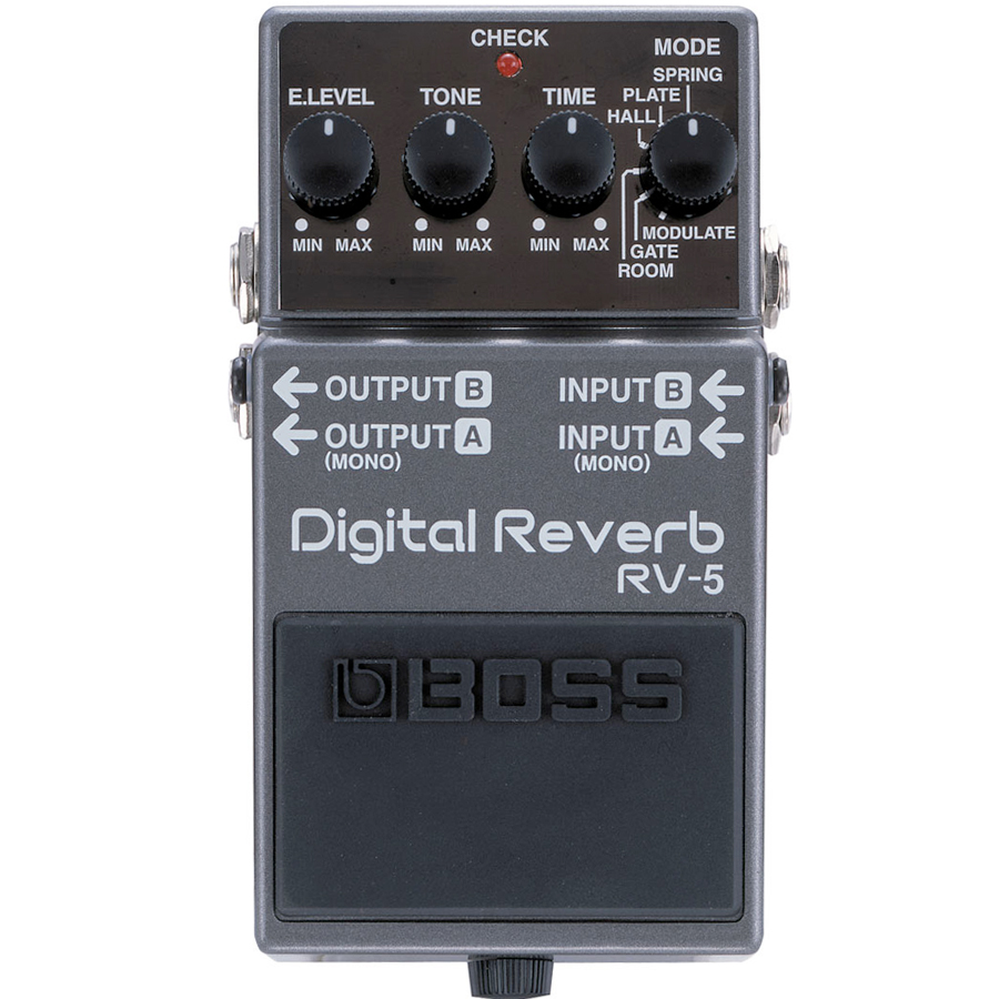 RV-5 Digital Stereo Reverb