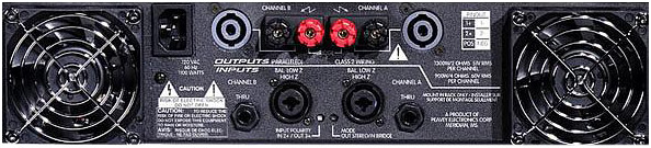 Peavey GPS 2600 Rear View