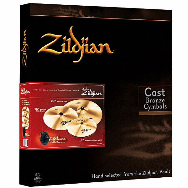 A Zildjian 4 Pack Matched Set