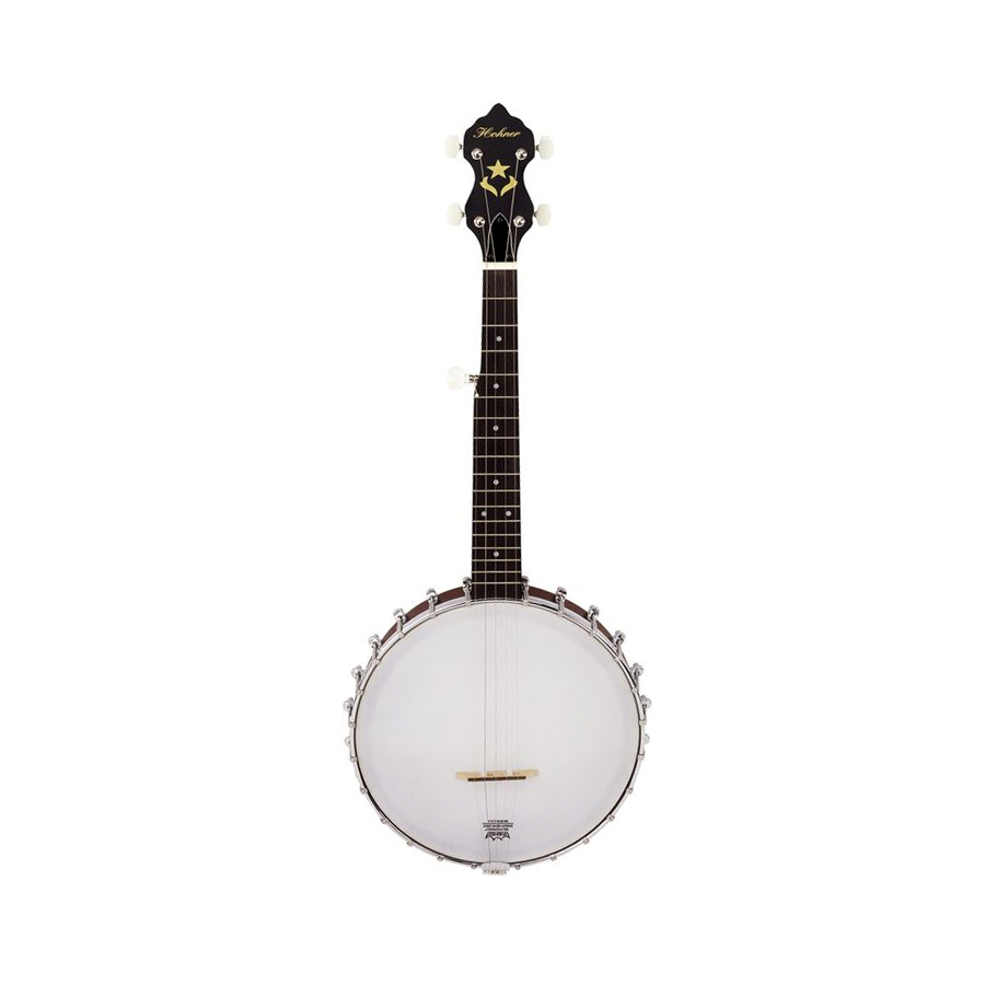 Hohner HTB 5 String Travel Banjo Front View