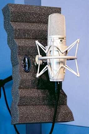Auralex Iso Producer Pack Tri-XPanders Isolate the Microphone during Recording