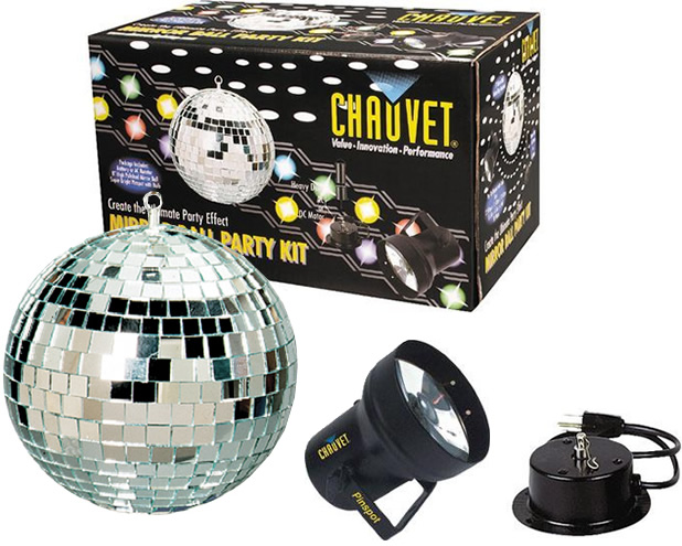 MBK-2 Mirror Ball Party Kit