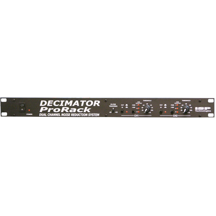Decimator Pro Rack Noise Reduction Stereo Version