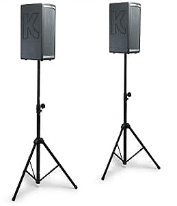 Kustom Profile System One Portable PA w/Stands & Bag Stand View
