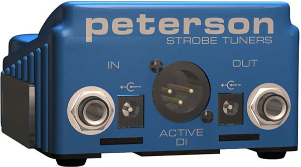 Peterson StroboStomp Rear Panel