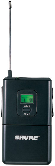 SLX1 Wireless Bodypack Transmitter