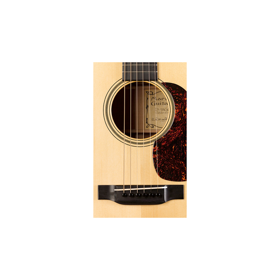 Martin D18GE Golden Era  Soundhole Detail