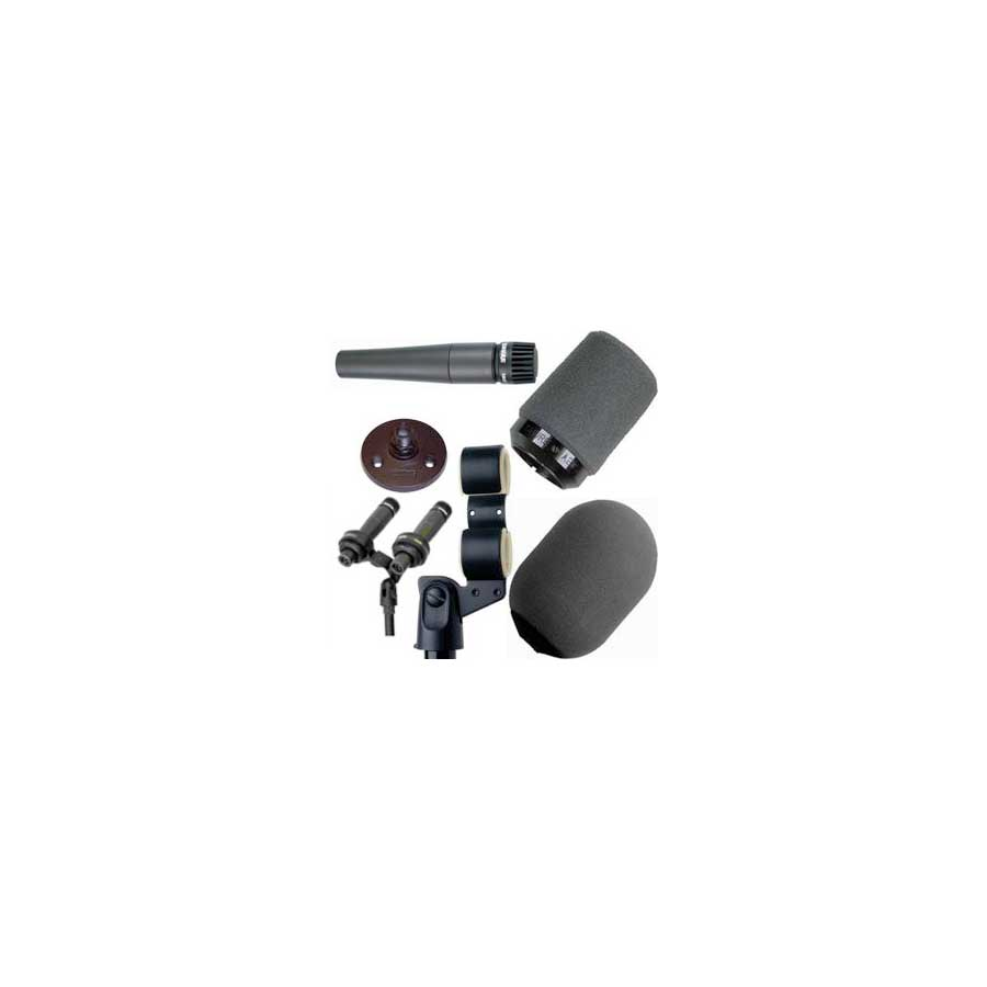 Shure SM57 VIP Presidential Microphone Kit View 2