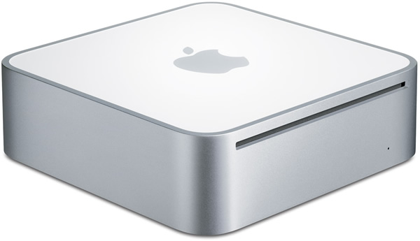 Apple 1.83GHz  Intel Core 2 Duo Mac Mini Side