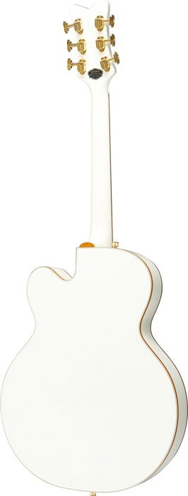 Gretsch G6136T White Falcon with Bigsby White Blemished Rear View
