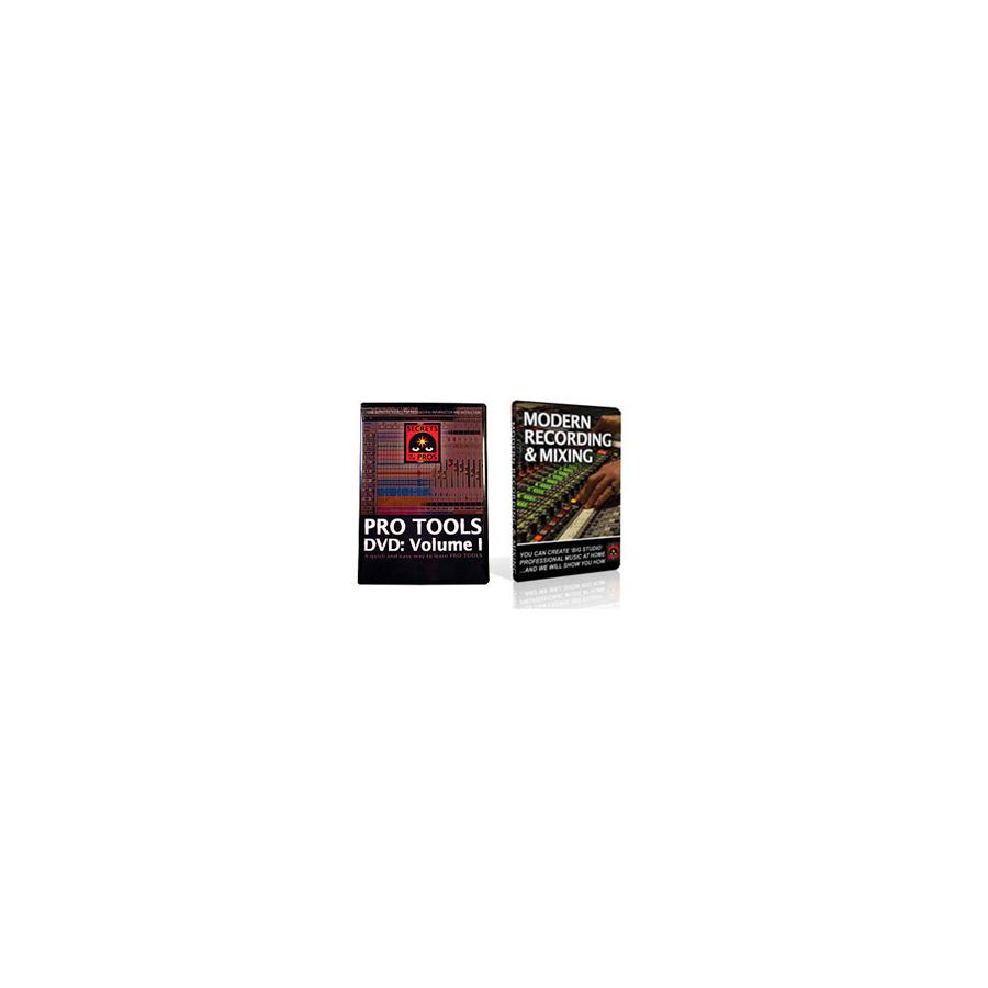 Pro Tools DVD Vol. 1 & Modern Recording & Mixing DVD