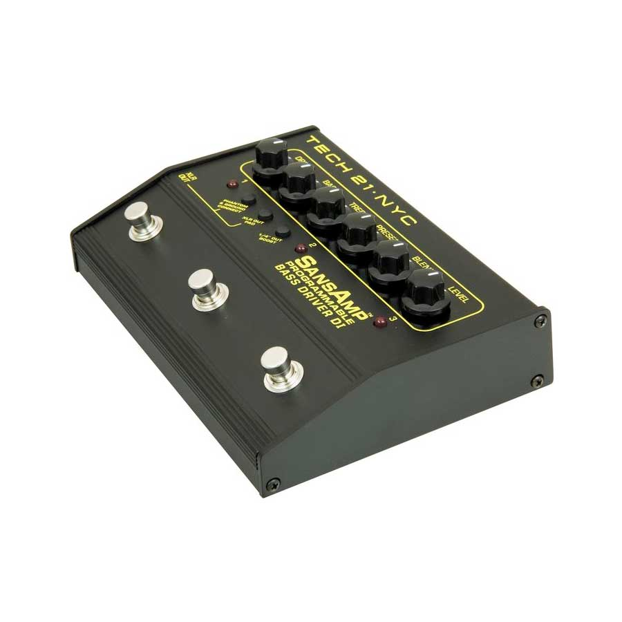 Tech21 Programmable Bass Driver DI Side View