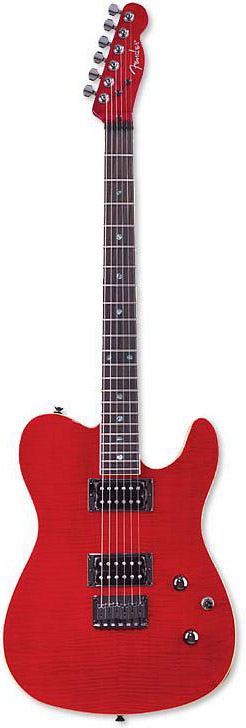 Custom Telecaster® FMT HH - Crimson Red Transparent