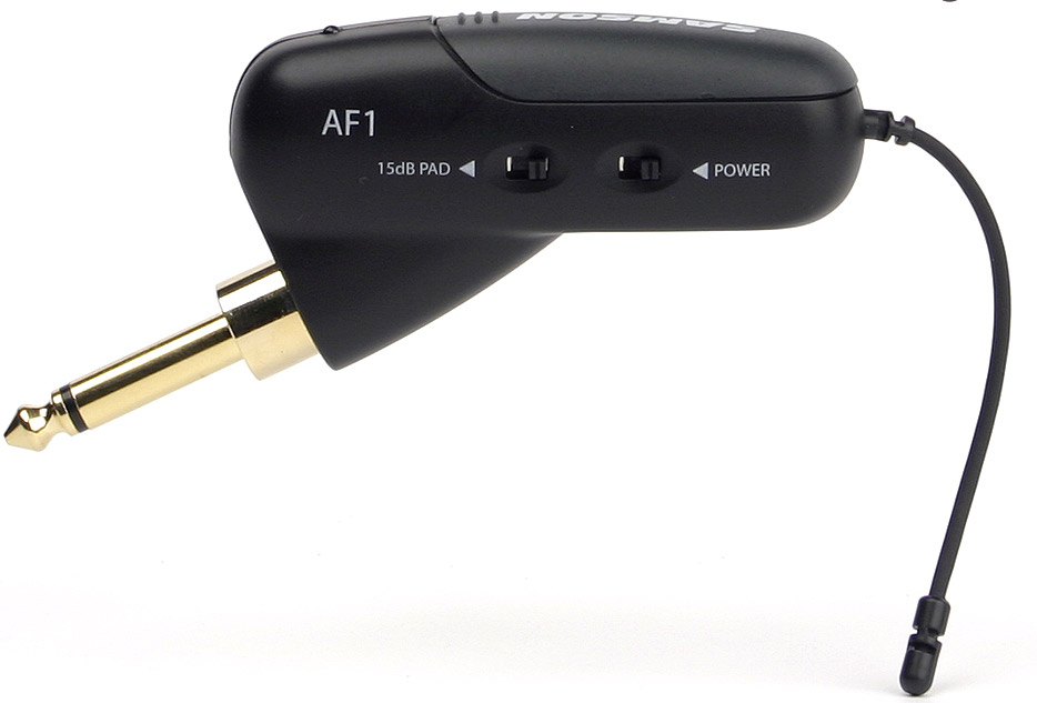 Samson Airline 77 Guitar Wireless w/AF1 (Strat® Style) Transmitter AF1 View