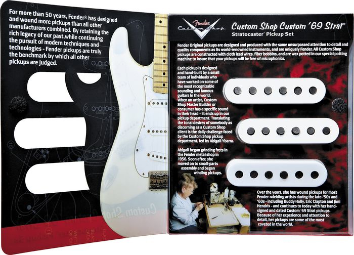 Fender Custom 69 Strat® Pickup Set (3 Pickups)  View 2