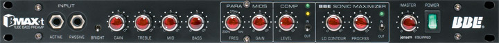 BBE BMAX-t Tube Bass Preamp View 2