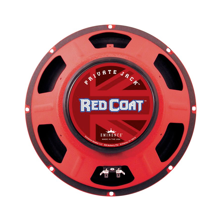 Red Coat Series Private Jack 12 Inch  8 Ohms