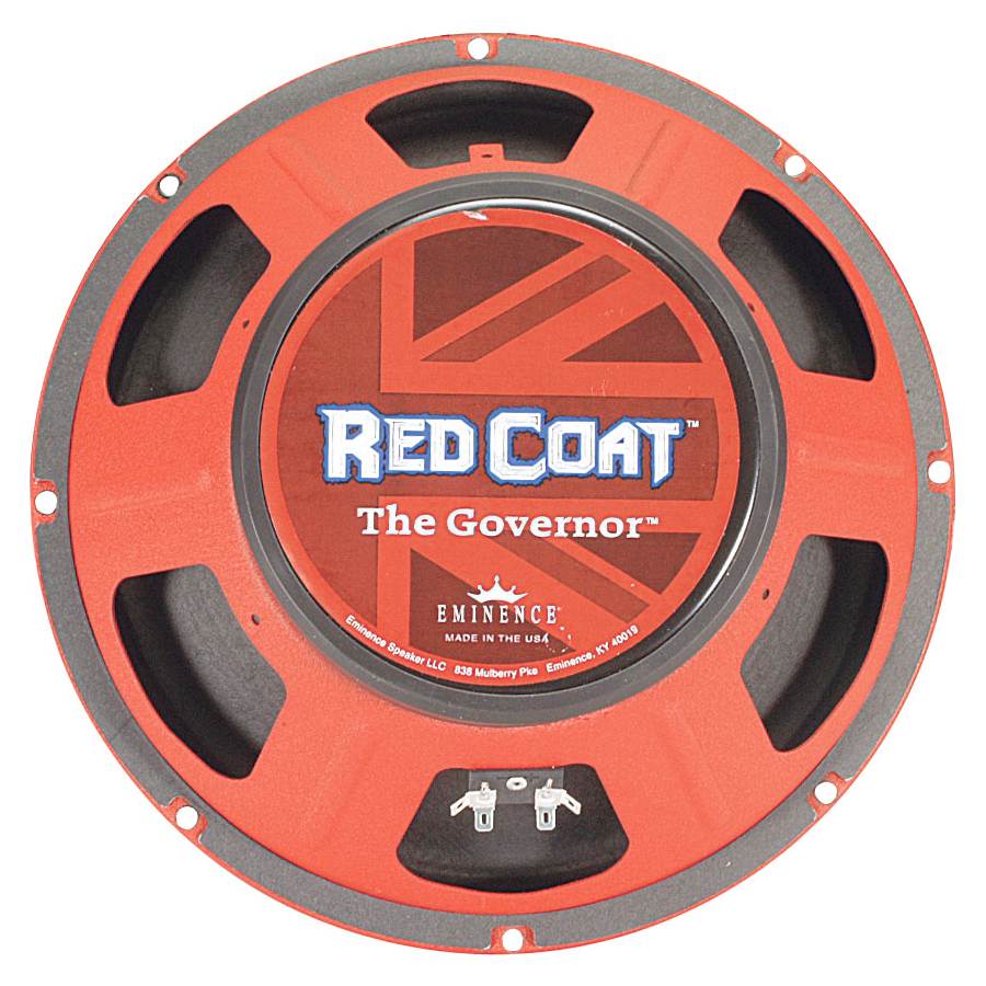 Red Coat Series The Governor 12 Inch  8 Ohms