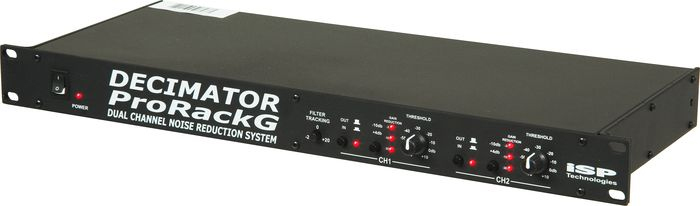 ISP Decimator Pro Rack G Noise Reduction Angled View