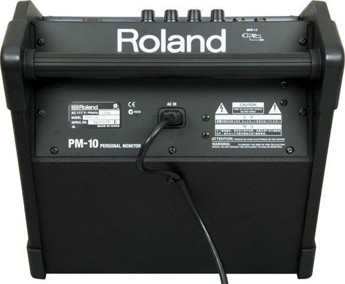 Roland PM-10 Back View