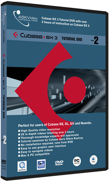 Cubase SX3 Level 2 - Tutorial DVD
