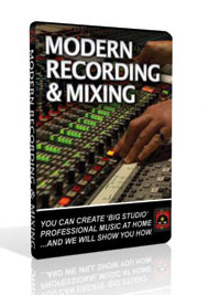 Modern Recording & Mixing DVD Set