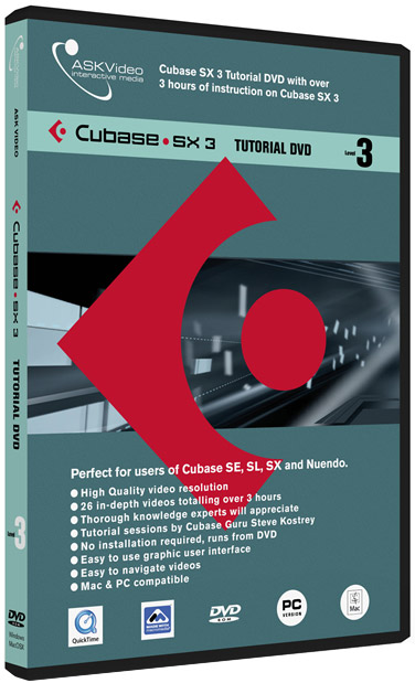 Cubase SX3 Level 3 - Tutorial DVD
